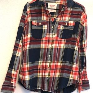 Mossimo Long Sleeve Flannel
